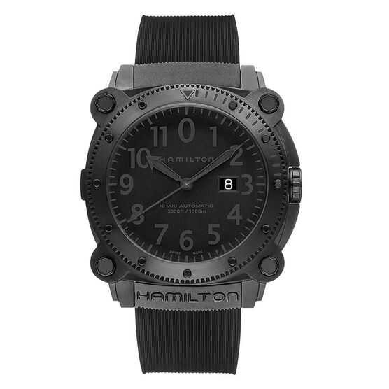 Hamilton Khaki Navy BeLOWZERO Automatic Date Watch, 46mm