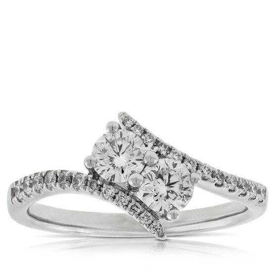 Ever Us™ 2-Stone Diamond Ring Featuring Signature Forevermark Diamonds 18K