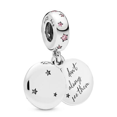 Pandora Forever Sisters Dangle CZ Charm