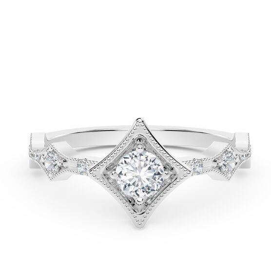 The Forevermark Tribute™ Collection Modern Diamond Ring 18K