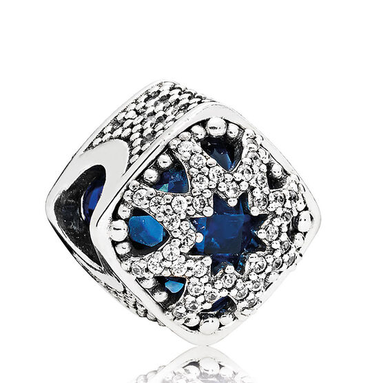 Pandora Glacial Beauty Crystals & CZ Charm