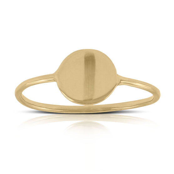 Reflection Ring 14K