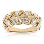 Signature Forevermark Diamond Leaf Band 18K