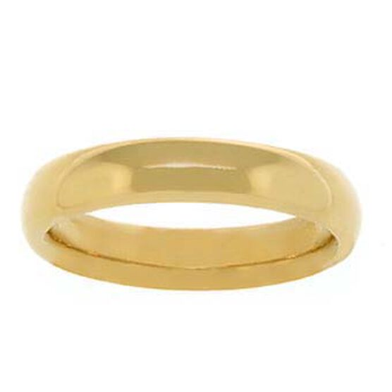 4mm Comfort Fit Band 14K