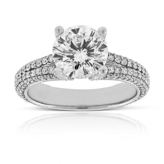 Signature Forevermark Diamond Engagement Ring 18K