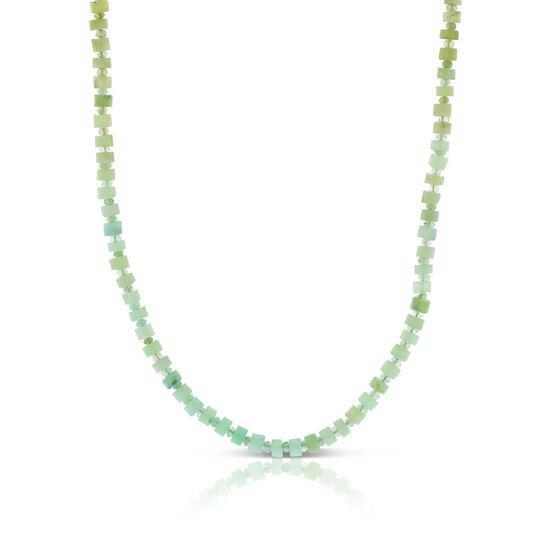 Lisa Bridge Faceted Opal Bead Necklace
