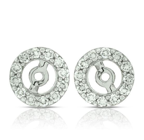 Diamond Earring Jackets 14k Ben Bridge Jeweler