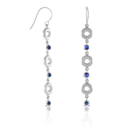 Lisa Bridge Sapphire Bubble Earrings