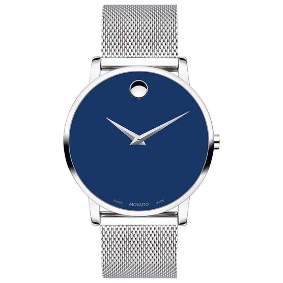 Movado Museum Classic Blue Dial Watch