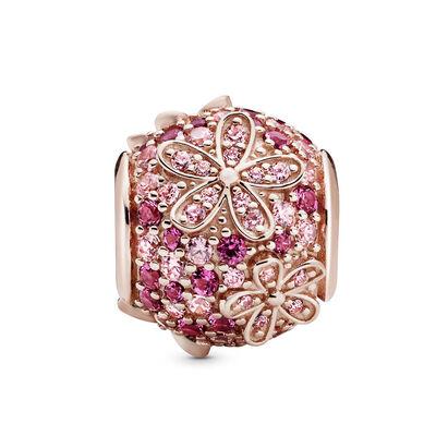 Pandora Rose™ Pink Pavé Daisy Flower Crystal Charm