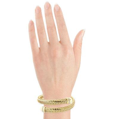Roberto Coin Primavera Diamond Wrap Bracelet 18K