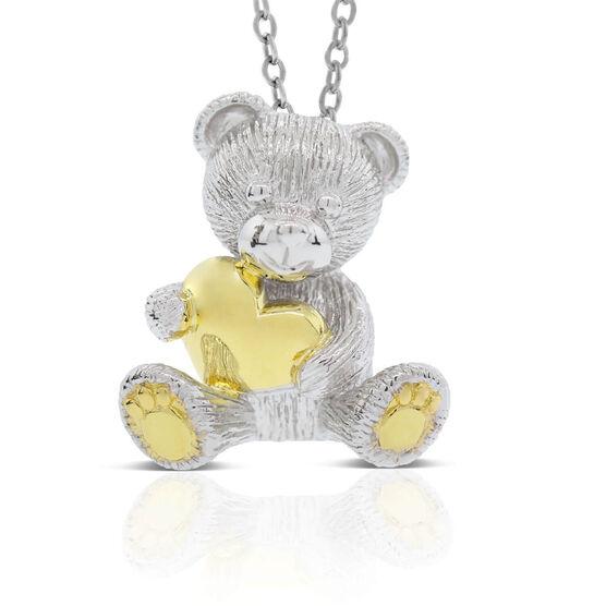 2020 Benny Bear Pendant in Sterling Silver