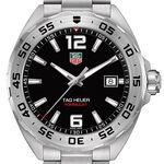 TAG Heuer Formula 1 Quartz Mens Black Steel Watch