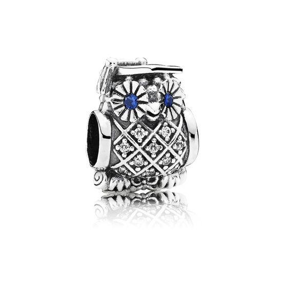 Pandora Graduate Owl Charm