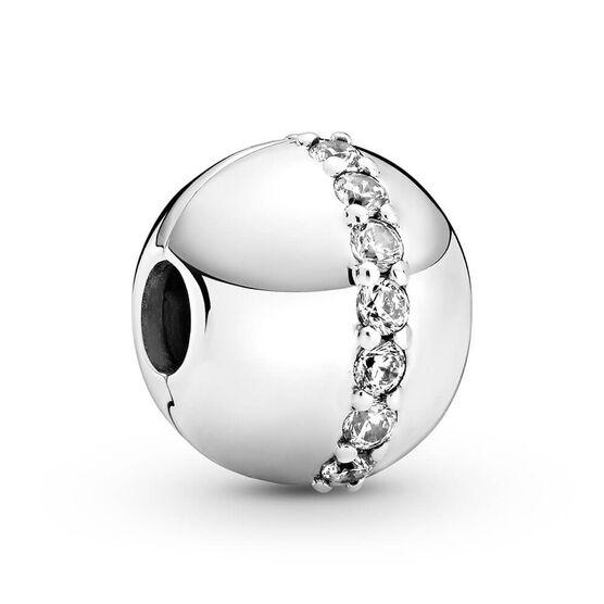 Pandora Sparkling CZ Line Clip Charm