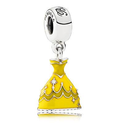 PANDORA Disney Belle's Dress Charm