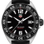 TAG Heuer Formula 1 Quartz Mens Black Rubber Watch