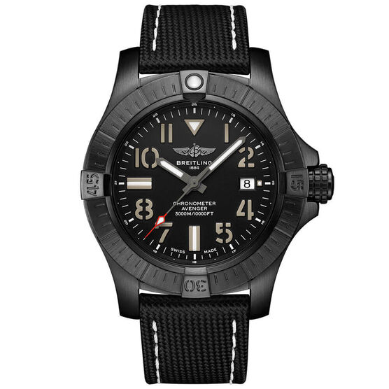 Breitling Avenger Automatic 45 Seawolf Night Mission Watch, 45mm