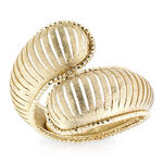 Toscano Bypass Ring 14K