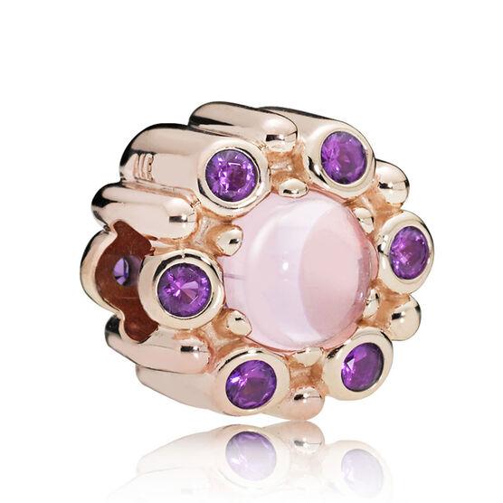PANDORA Rose™ Heraldic Radiance Crystal Charm | Tuggl