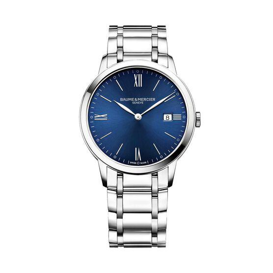 Baume & Mercier Blue Dial CLASSIMA 10382 Watch