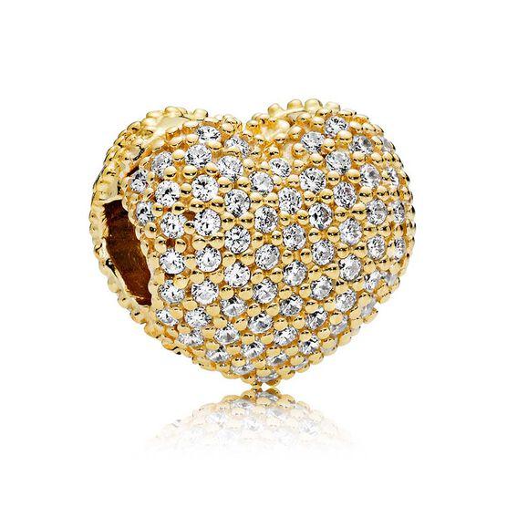 PANDORA Shine™ Pavé Open My Heart CZ Clip