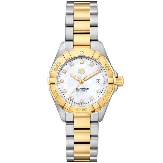 TAG Heuer Aquaracer 18K Diamond Quartz Watch