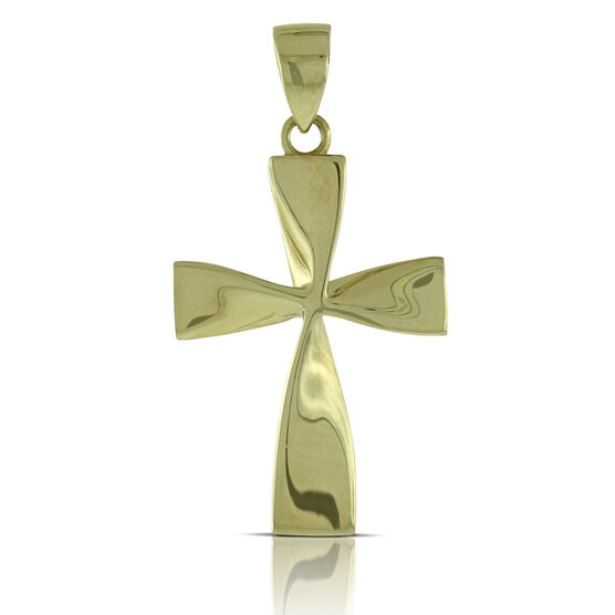 Cross Pendant  14K