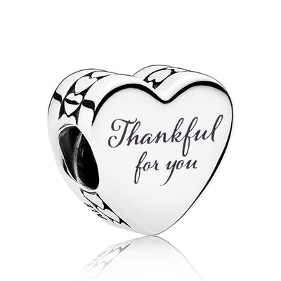 PANDORA 'Thankful For You' Enamel Charm