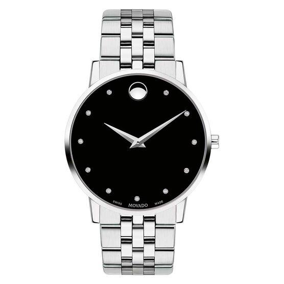 Movado Museum Classic Diamond Marker Watch
