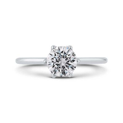 "Bella Ponte ""The Whisper Crown"" Diamond Engagement Ring Setting 14K"