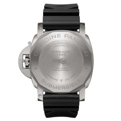Panerai Submersible Amagnetic Black Dial Titanium Watch, 47mm