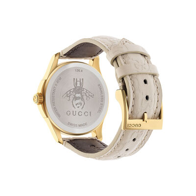Gucci G-TIMELESS Signature White Dial Watch