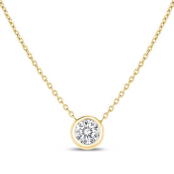 Roberto Coin Diamonds by the Inch Diamond Necklace 18K