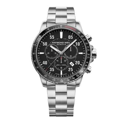 Raymond Weil Tango 300 Men's Quartz Chronograph Watch, 43mm