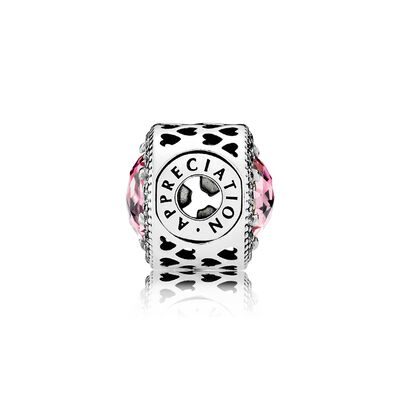 PANDORA Essence Appreciation CZ Charm