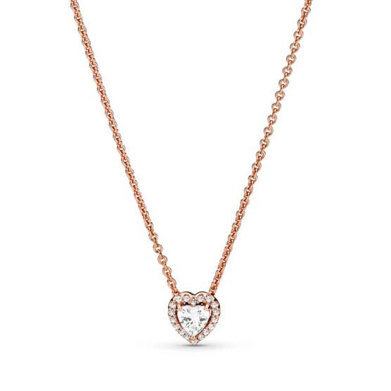 Pandora Rose™ Sparkling Heart CZ Collier Necklace