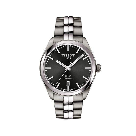 Tissot  PR100 Titanium Quartz Watch