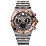 Breitling Chronomat B01 42 Anthracite Watch, 42mm, 18K & Steel