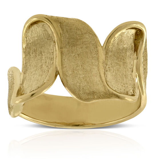 Toscano Ribbon Ring 14K