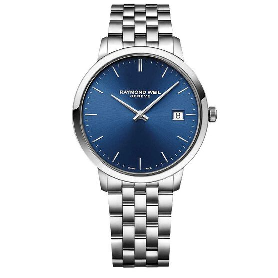 Raymond Weil Toccata Blue Dial Quartz Watch, 42mm