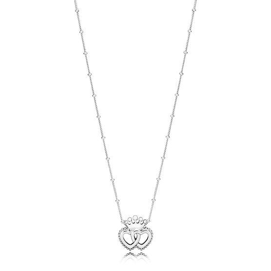 Pandora United Regal Hearts Pendant