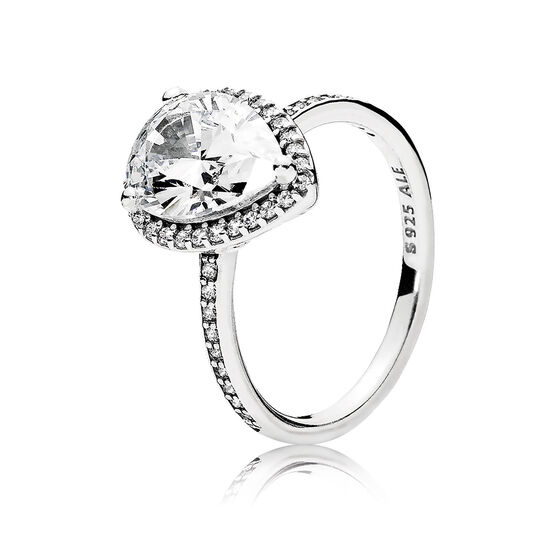 Pandora Radiant Teardrop CZ Ring