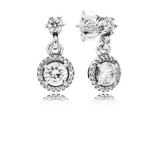PANDORA Classic Elegance Dangle Earrings