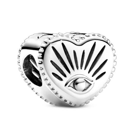 Pandora All-seeing Eye & Heart Charm