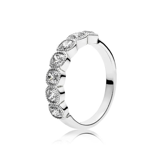 PANDORA Alluring Cushion CZ Ring