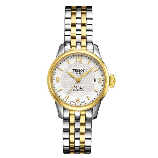 Tissot Le Locle Automatic Lady Two-Tone Watch, 25.3mm