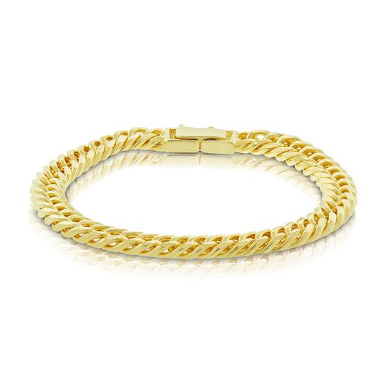 Curb Bracelet 14K