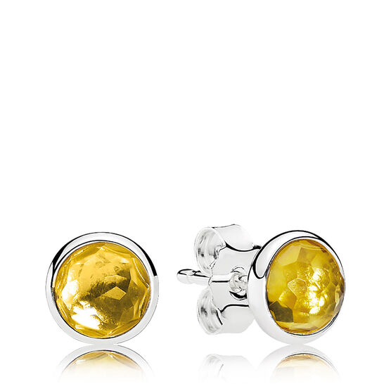 Pandora November Droplets Earrings