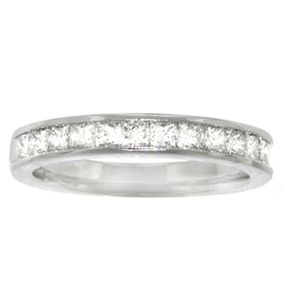 Princess Cut Diamond Ring 14K, 3/4 ctw.